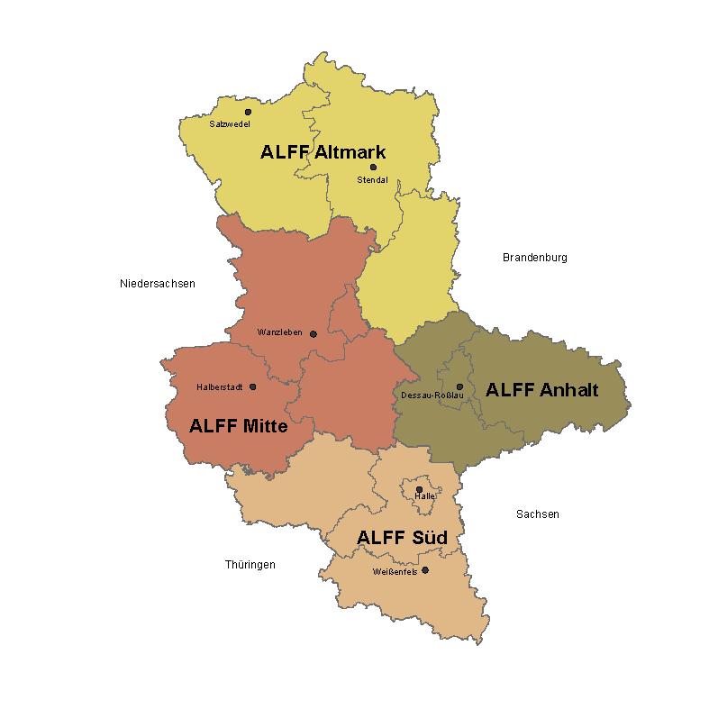 ALFF: Ämter für Landwirtschaft, Flurneuordnung und Forsten